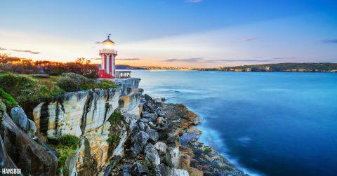Hornby Lighthouse by Hans Bui